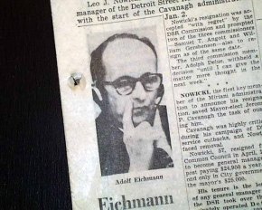 The day I met Adolf Eichmann
