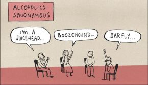 A WORLD FULL OF SYNONYMS, ACRONYMS ANDCARTOONONYMS