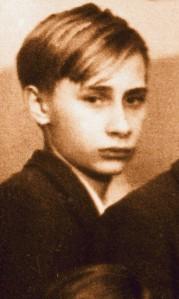 Putin as boy
