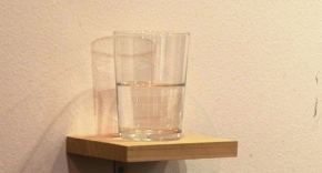 Is a glass half full of water worth €20,000?