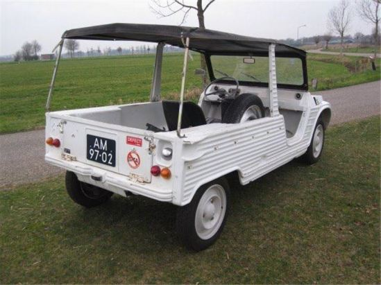 Citroën Mehari, c. 1971. One the most fun cars I have ever had. Mine was red.